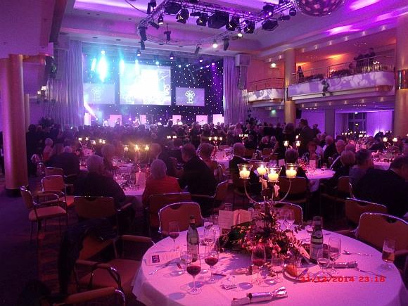 Der große Silvesterball am 31.12.2014 im Grand  Elysée Hotel in Hamburg.