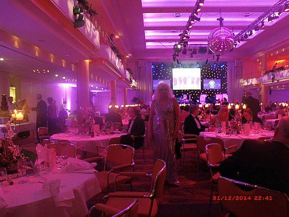 Prof.h.c. Dr.h.c. Natalia Eitelbach...Der große Silvesterball am 31.12.2014 im Grand  Elysée Hotel in Hamburg.